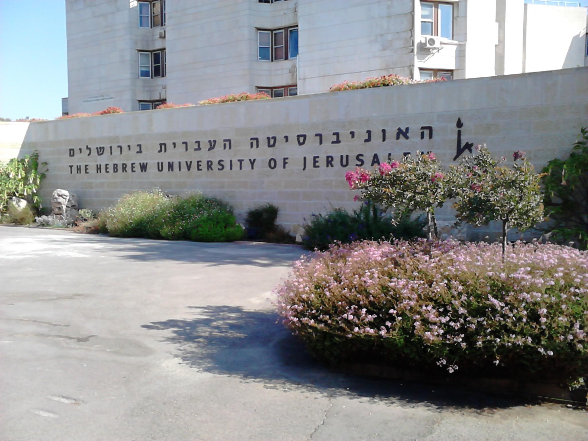 الجبل والقلعة: عمارة الجامعة العبريّة