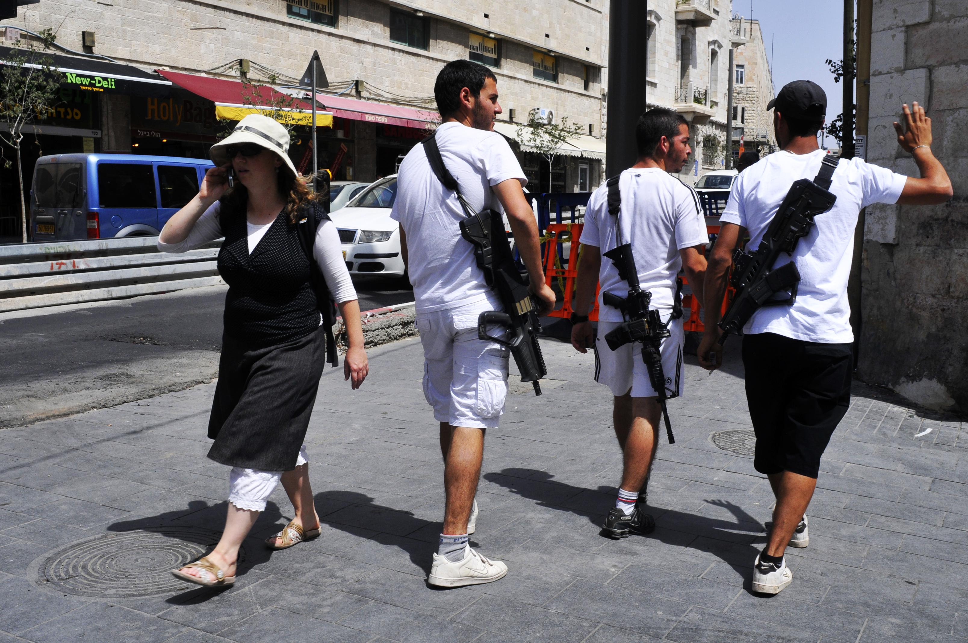 عسكرة المجتمع الاسرائيلي