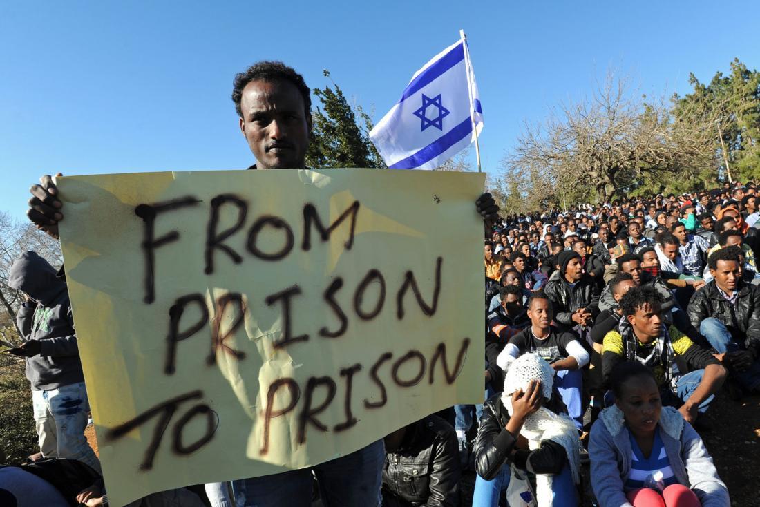 """اللاجئون الأفارقة في """"إسرائيل"""""""
