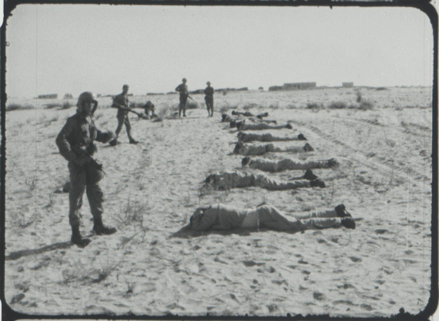 إعدام جماعي بحق أسرى عرب