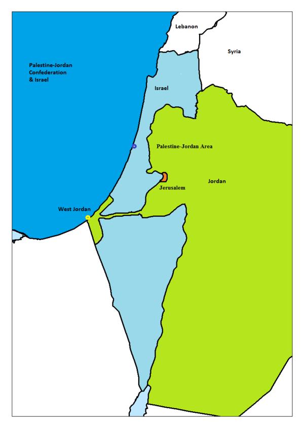 الفدرالية الفلسطينية-الأردنية كبديل لحلّ الدولتين