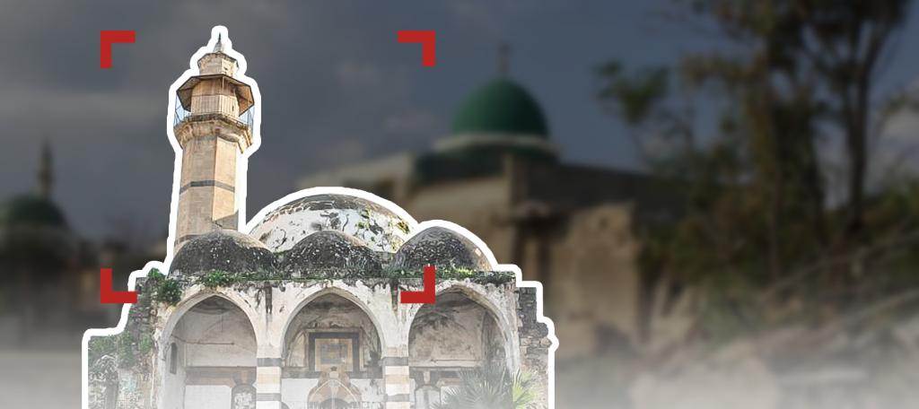 احتلال المساجد الفلسطينية وتهويدها