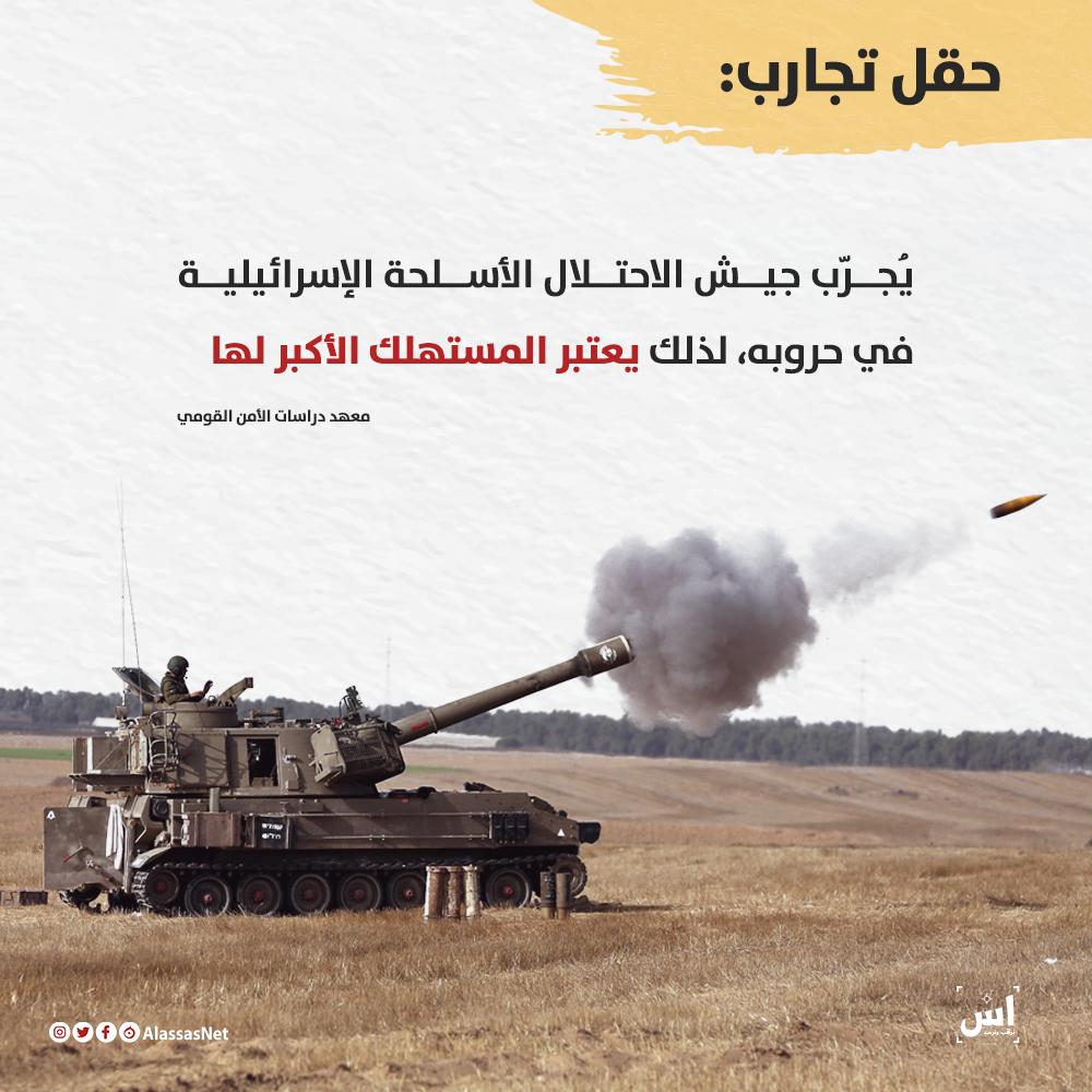 السلاح الإسرائيلي: تجريب على العرب وتصدير للغرب