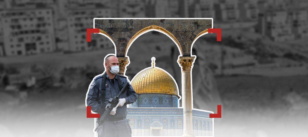 القدس.. كورونا لم تمنع الاعتداءات!