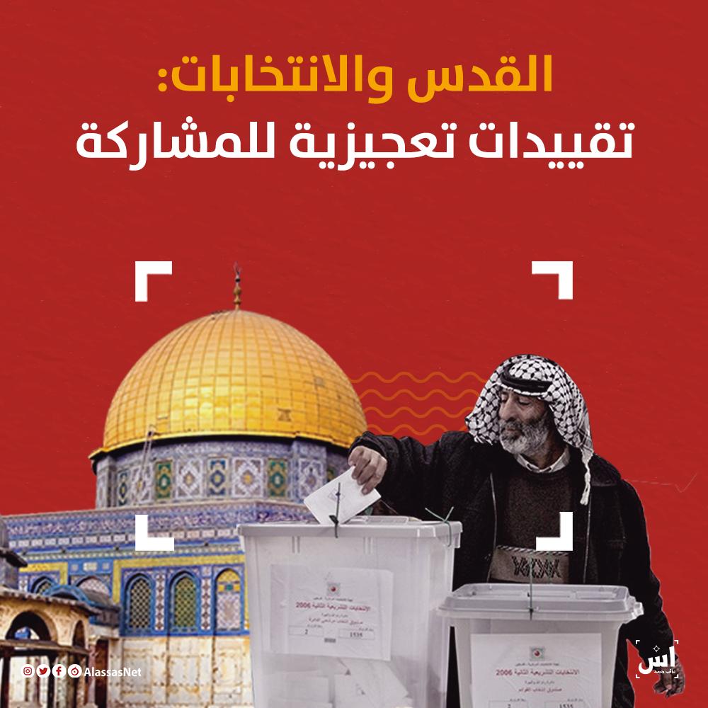 القدس والانتخابات: تقييدات تعجيزية للمشاركة