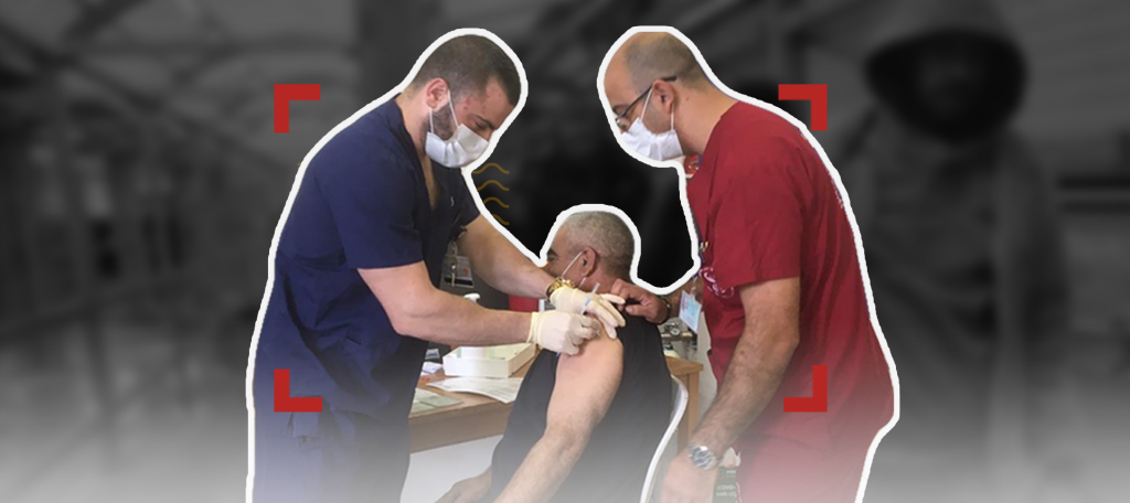 تطعيمات الفلسطينيين: بين العمل والسكان