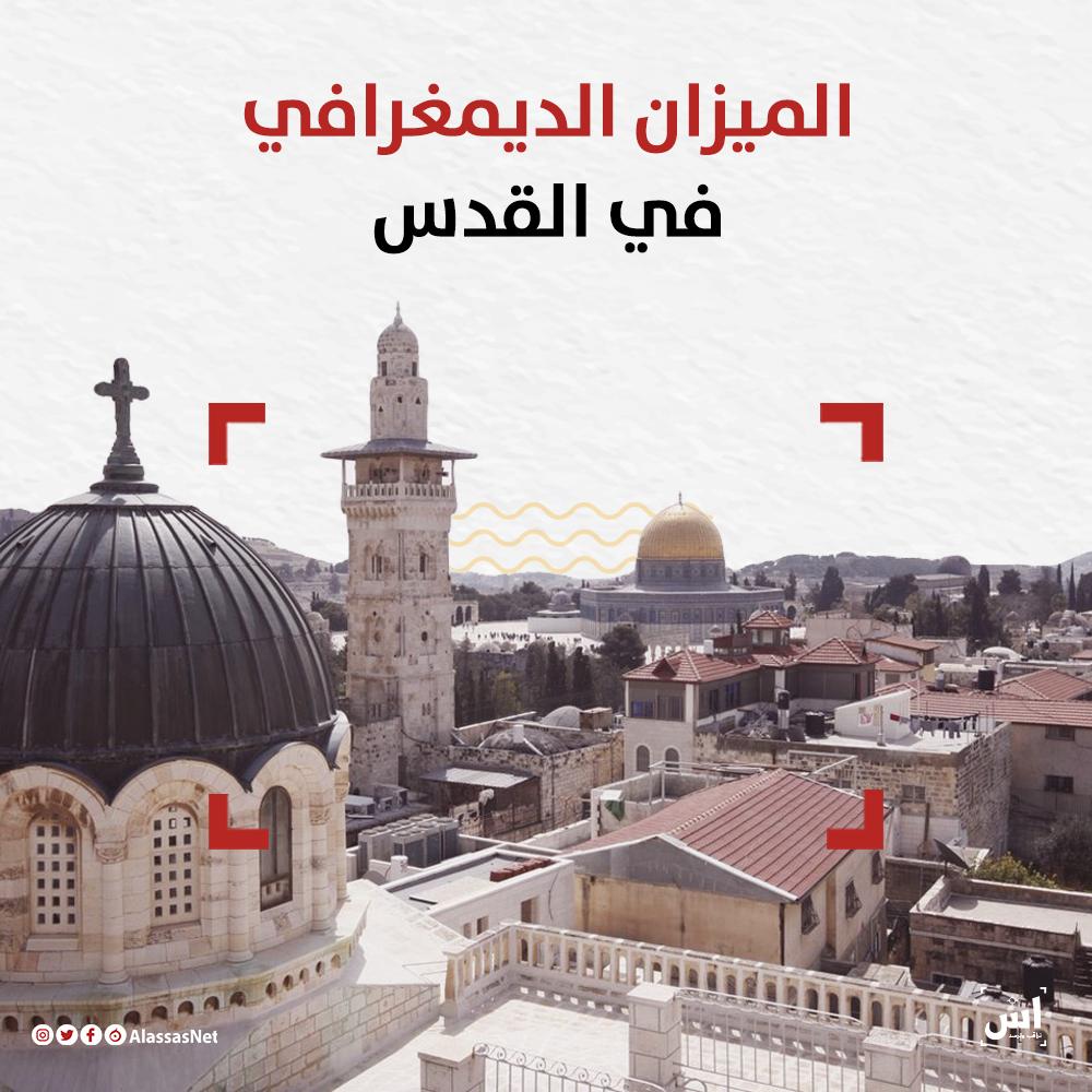 الميزان الديمغرافي في القدس